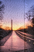 District Of Columbia Prints - Always Remembered  Print by JC Findley