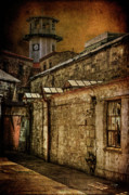 Dilapidated Digital Art Prints - Always Watching Print by Lois Bryan