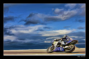 Blake Richards Framed Prints - AMA SuperBike Josh Jayes Framed Print by Blake Richards