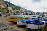Nancy Bradley - Amalfi Boats