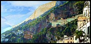 Ellen Cannon - Amalfi Cliffs
