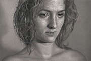 Photorealism Drawings - Amalgam by Dirk Dzimirsky