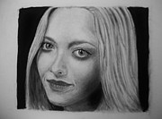 Amanda Drawings - Amanda Seyfried by Daniel Diehl