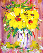Loose Paintings - Amarillo by Lynda Cookson