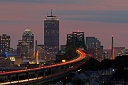 New England Acrylic Prints - Amazing Boston by Juergen Roth