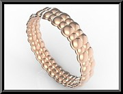 Roi Avidar - Amazing Bubble 14k Rose...