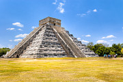 World Wonder Prints - Amazing Mayan Pyramid at Chichen Itza Print by Mark Tisdale