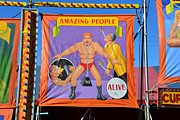 Freak Show Framed Prints - Amazing people Framed Print by David Lee Thompson