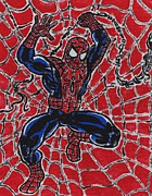Ironman Paintings - Amazing Spider-Man by Matt Molleur