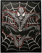 Spiderman Paintings - Amazing Spiderman by Gary Niles