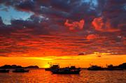 Fototrav Print - Amazing tropical sunset