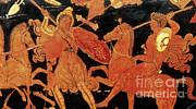 Photo Researchers - Amazon Warrior Woman Fights Greek