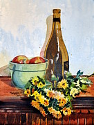Spencer Meagher - Amber Bottle Still Life