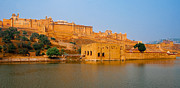 Singh Prints - Amber Fort-2 Print by Mukesh Srivastava