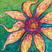 Sunflower Paintings - Ambition by Tanielle Childers