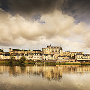 Loire Valley Posters - Amboise Loire Valley France Poster by Colin and Linda McKie