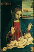 Holy Figures Prints - Ambrogio Da Fossano Known Print by Everett