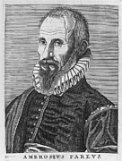 Pare Photo Framed Prints - Ambrose Pare (1517?-1590) Framed Print by Granger