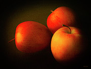 Nectar Metal Prints - Ambrosia Apples Metal Print by Theresa Tahara