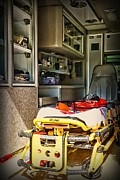 Saving Photo Prints - Ambulance - Trip of a Lifetime  Print by Paul Ward