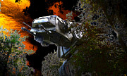 Imperial Digital Art - Ambushed on Endor by David Lee Thompson