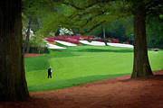 Mark Sanderson - Amen Augusta Golf Art