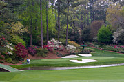 Amen Posters - Amen Corner Augusta Golf Picture Poster by Mark Sanderson