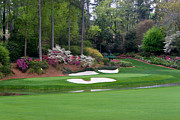 Amen Photos - Amen Corner Augusta Golf Set by Mark Sanderson