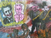 George Bush Mixed Media - America 2000 by Mike Miller
