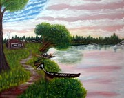 July 4th Paintings - America the Beautiful by Joseph Aiello