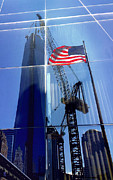 Graphical Digital Art Originals - America under construction by Li   van Saathoff