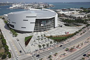 Airlines Photo Originals - American Airlines Arena by Felix Mizioznikov