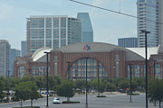 Airlines Photo Originals - American Airlines Center by Ruth  Housley
