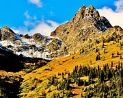 North Cascades Prints - American Alps Print by Benjamin Yeager