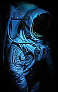 Neil Armstrong The Moon Posters - American Astronaut - Buzz Aldrins Suit Poster by Lee Dos Santos