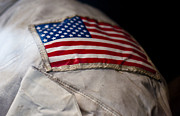 Shoulder Prints - American Astronaut Print by Christi Kraft