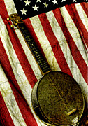 Hand Made Art - American Banjo by Kristie  Bonnewell
