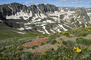 Colorado Mountains Photos - American Basin by Aaron Spong