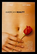 Landmarks Digital Art Framed Prints - American Beauty Poster Framed Print by Sanely Great