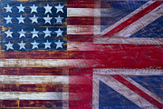 American British Flag Print by Garry Gay