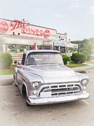 Classic Pickup Metal Prints - American Classics Metal Print by Edward Fielding