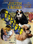Julius Paintings - American Cocker Spaniel Art - Julius Caesar Movie Poster by Sandra Sij