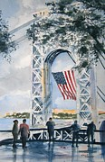New Jersey Painting Originals - American Dream by Brian Degnon