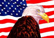 Bob Johnston - American Flag - Bald...