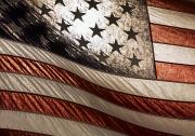Flag Of Usa Prints - American Flag Print by Chris Knorr