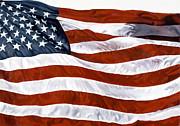 American Flag Print by John Zaccheo