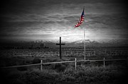 Scott McGuire - American Flag with Cross