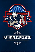 Ball Digital Art - American Football National Cup Classic Poster  by Aloysius Patrimonio