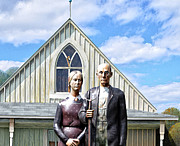 American Art - American Gothic  by Bill Cannon