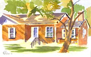 Shadows Paintings - American Home V by Kip DeVore